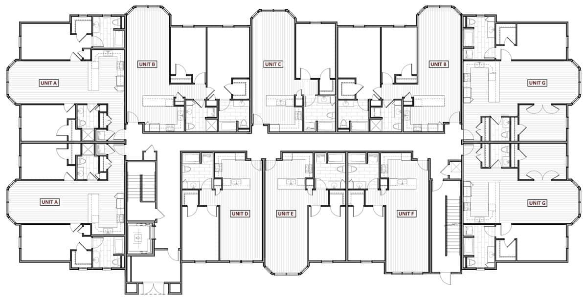 1109 - AUTUMN POND - Building #6 - 001