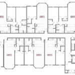 1109 - AUTUMN POND - Building #5 - A102 - First Floor plan - MAR